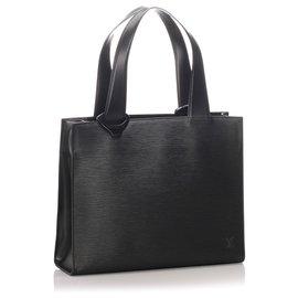 Louis Vuitton-Louis Vuitton Black Epi Gemeaux-Schwarz