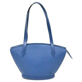 Louis Vuitton-Louis Vuitton Saint Jacques-Blau