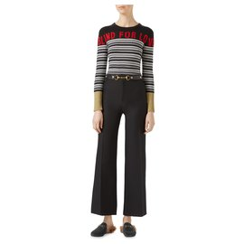 Gucci-Pull en cachemire Blind for Love-Multicolore