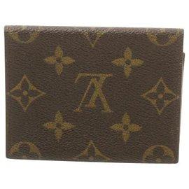 Louis Vuitton-Louis Vuitton Geldbörse-Braun