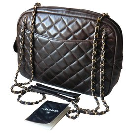 Chanel-Chanel Camera Bag-Brown