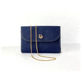 Christian Dior-Handbags-Navy blue