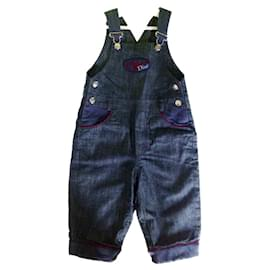Baby Dior-Bodysuits-Blue