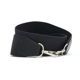 Hermès-EVELYNE STRAP BLACK BOX SILVER-Noir,Argenté
