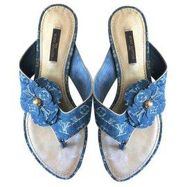 Louis Vuitton-Sandalen-Mehrfarben