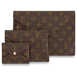 Louis Vuitton-Kirigami LV neu-Braun