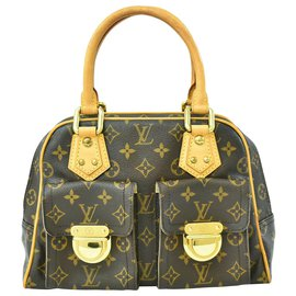 Louis Vuitton-Louis Vuitton Manhattan PM-Brown