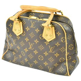 Louis Vuitton-Louis Vuitton Manhattan PM-Braun
