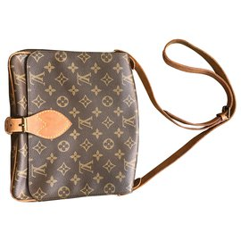 Louis Vuitton-Louis Vuitton Cartouchière-Brown