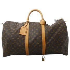 Louis Vuitton-Louis Vuitton Keepall 50-Braun