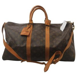 Louis Vuitton-Louis Vuitton Keepall 45-Brown