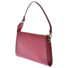 Louis Vuitton-Louis Vuitton Handtasche-Rot