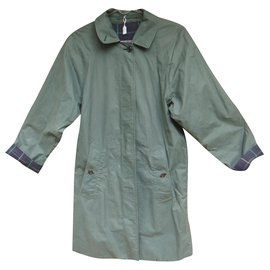 Burberry-Burberry woman raincoat vintage model Marfield t 36/38-Green