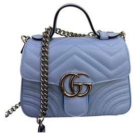 Gucci-Handbags-Blue