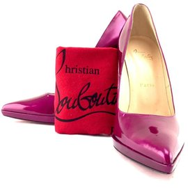 Christian Louboutin-Christian Louboutin Purple Pumps EU size 40 (approx US 10)-Purple