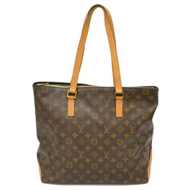 Louis Vuitton-Louis Vuitton Cabas Mezzo-Braun