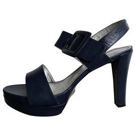 Free Lance-Sandals-Navy blue