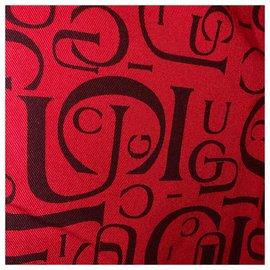 Gucci-vintage 1994 Tom Ford Rare Logo Denim-Rouge