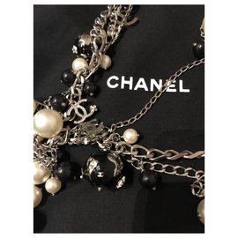 Chanel-Necklace-Black