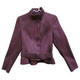 Akris-Akris jacket in pure cashmere t 38 new condition-Purple
