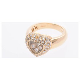Chopard-Chopard Happy Diamond Halskette-Gelb