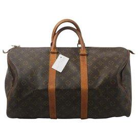 Louis Vuitton-Louis Vuitton Keepall 45-Braun