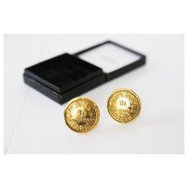 Chanel-Rue Cambon Ohrringe-Golden