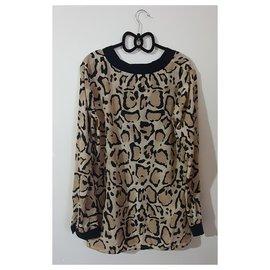 Gucci-Hauts-Multicolore,Imprimé léopard