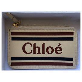 Chloé-Wallets-Beige