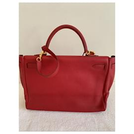 Hermès-Kelly 32-Red