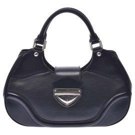 Louis Vuitton-Louis Vuitton Montaigne-Noir