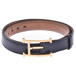 Hermès-Hermes Belt-Black