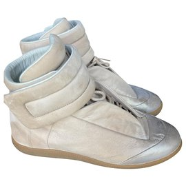 Maison Martin Margiela-High top Future sneakers-Beige