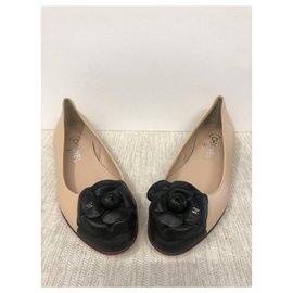 Chanel-Ballerinas flat-Beige