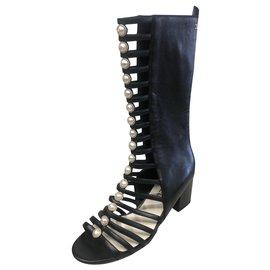 Chanel-Stivali-Black
