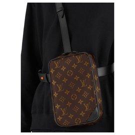 Louis Vuitton-LV mens utility bag new-Brown
