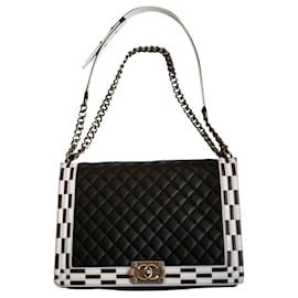 Chanel-CHANEL Boy large model bag-Black