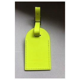 Louis Vuitton-Bag charms-Yellow