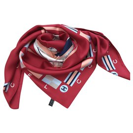 Chanel-Chanel scarf-Red