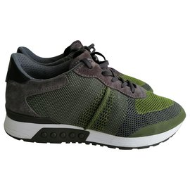 Tod's-Sneakers-Green