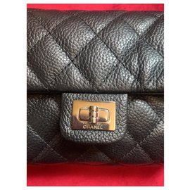 Chanel-Banana pouch 2.55 Chanel-Black