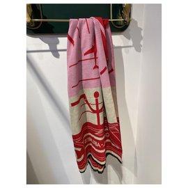 Chanel-Scarves-Black,Pink,Red,Beige