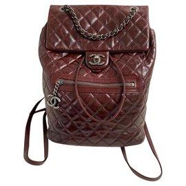 Chanel-Chanel-Dark red