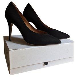 Isabel Marant-Très beaux escarpins Isabel Marant  noirs, Modèle Prissy,  NEUFS-Noir