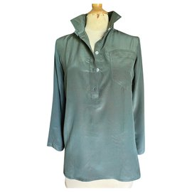 Chloé-Tops-Dark green