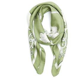 Hermès-PHAETON 1958 CELADON GREEN-Green