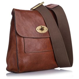 Mulberry-Mulberry Brown Antony Messenger Bag-Brown