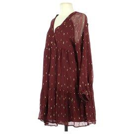 SéZane-robe-Dark red