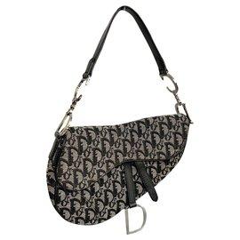 Dior-Saddle bag Dior monogram-Black