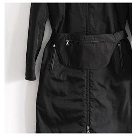 Prada-Trench coats-Black